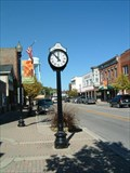 Image for West Chicago Historic District Clock - West Chicago, Illinois