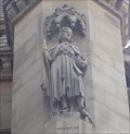 Image for Monarchs - King Henry VII On Side Of City Hall - Bradford, UK