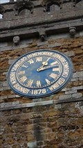 Image for Church Clock - St Mary - Burrough on the Hill, Leicestershire