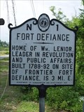Image for Fort Defiance, Marker N-1