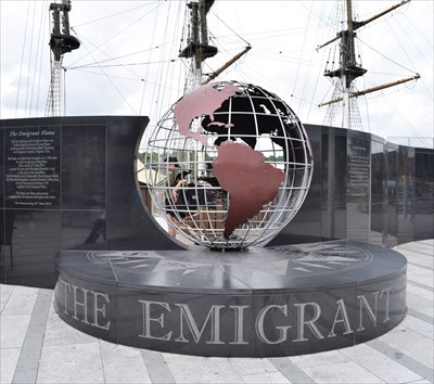 The Emigrant Flame - New Ross.