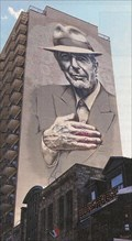 Image for Leonard Cohen mural inaugurated in downtown Montreal, Quebec, Canada