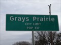 Image for Grays Prairie - Population 337
