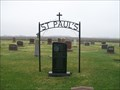 Image for St. Paul Lutheran Cemetery, Albee, South Dakota