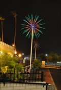 Image for Castle ~n~ Coasters Fireworks Trees  ~ Phoenix, Arizona