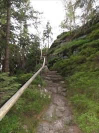 Schody na vrchol