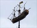 Image for Man-of-War Weathervane - Pembroke, Chatham, Kent, UK