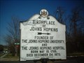 Image for Birthplace of Johns Hopkins