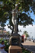 Image for Mermaid angel with flute  -  Puerto Vallarta, Mexico