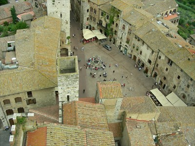 San Gimignano from one of the tower