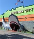 Image for Souvenir City - Shark - Orange Beach, Gulf Shores, Alabama, USA.