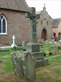 Image for Cemetery, St. Mary's, Harvington, Worcestershire, England