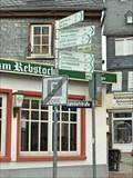 Image for Arrows at Burgstraße  - Montabaur - Rheinland-Pfalz / Germany