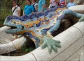 Image for Gaudi's Dragon Fountain - Park Güell - Barcelona, Spain
