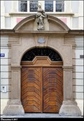 "Image for Baroque portal of House ""At the Monkeys"" (""At the Opitzs"") / Barokní portál domu U Opic (U Opitzu) - Dlouha trida (Prague)"