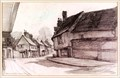 "Image for ""A View of a Street in Saffron Walden"" by Frank Lewis Emanuel – 32 High St, Saffron Walden Essex, UK"