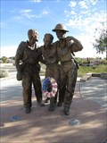 Image for Bataan Death March Statue and Walkway - Las Cruces, NM