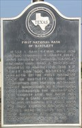 Image for First National Bank of Bartlett