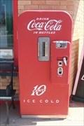 Image for Sinclair Service Station Coca-Cola Machine - Snyder, TX