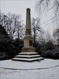 Image for Památník v parku Abácie - Valašské Mezirící, Czech Republic