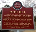 Image for Faith Hill Country Music Trail Marker - Star, Mississippi