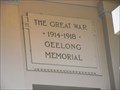 Image for Geelong Peace Memorial - Victoria