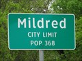Image for Mildred, TX - Population 368