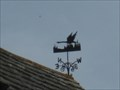 Image for Flying Swan Weathervane - West Street, Corfe Castle, Isle of Purbeck, Dorset, UK