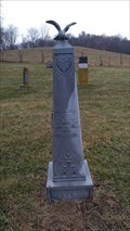 Image for Taylor Cemetery Zinc Headstones