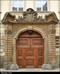 "Image for Baroque portal of Canon's Residence ""At the Black Gate / U cerné brány"" (Olomouc, Central Moravia)"