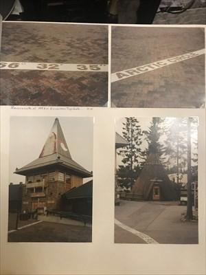 Albumista löytyy myös lumettomia kuvia paikalta.. Näkyy sitten tuo viivakin.. Tämä oli vaellusreissu 11.10.2004