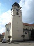 Image for Zvonice kostela sv. Jana Krtitele - Pocátky, okres Pelhrimov, CZ