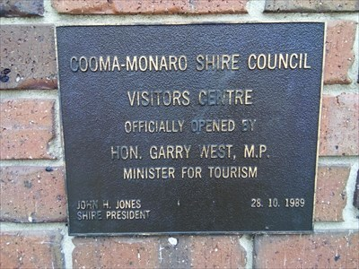 The plaque, for the Opening in 1989. 1607, Sunday, 30 December, 2018