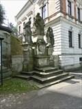 Image for The statues Saint Nepomuk, Saint Florian and Saint Charles Borromeo  - Jirikov, Czech Republic