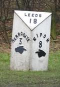 Image for Milestone - Harrogate Road, Killinghall, Yorkshire, UK.