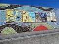 Image for Curves - Mosaic - Eisenhower Pier, Bangor, Northern Ireland.