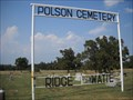 Image for Polson Cemetery - Rural Delaware County, Ok.