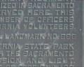 Image for CA Historical Marker No. 666 - Sacramento, CA
