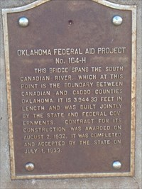 Oklahoma Federal Aid Project