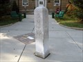 Image for Borough Hall Mile Marker - Merchantville, NJ