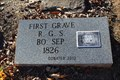 Image for FIRST Grave in Woodland Cemetery - Hopkins County, TX