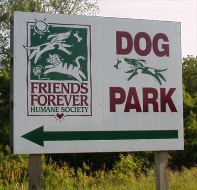 Park is 1/4 mile East of sign on Lamm Rd.