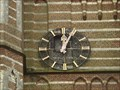 Image for Clock at Sint-Gertrudiskerk in Vorst, Antwerpen  / Belgium