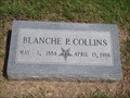 Image for 101 - Blanche P. Collins - Fairlawn Cemetery - Stillwater, OK