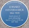 Image for Edward Westermarck - University of London, Senate House, London, UK