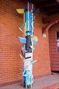 Image for Depot Art Center Totem Pole - Steamboat Springs, CO