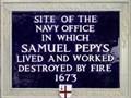 Image for Samuel Pepys - Seething Lane, London, UK