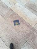 Image for Porcelain way marker of Camino de la plata -Ourense, Galicia, España