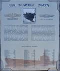 Image for USS Seawolf - Lost at Sea Memorial - Pearl Harbor, Honolulu, Hawaii.