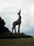 Image for Dallas, Texas: Giraffe Statue at Dallas Zoo